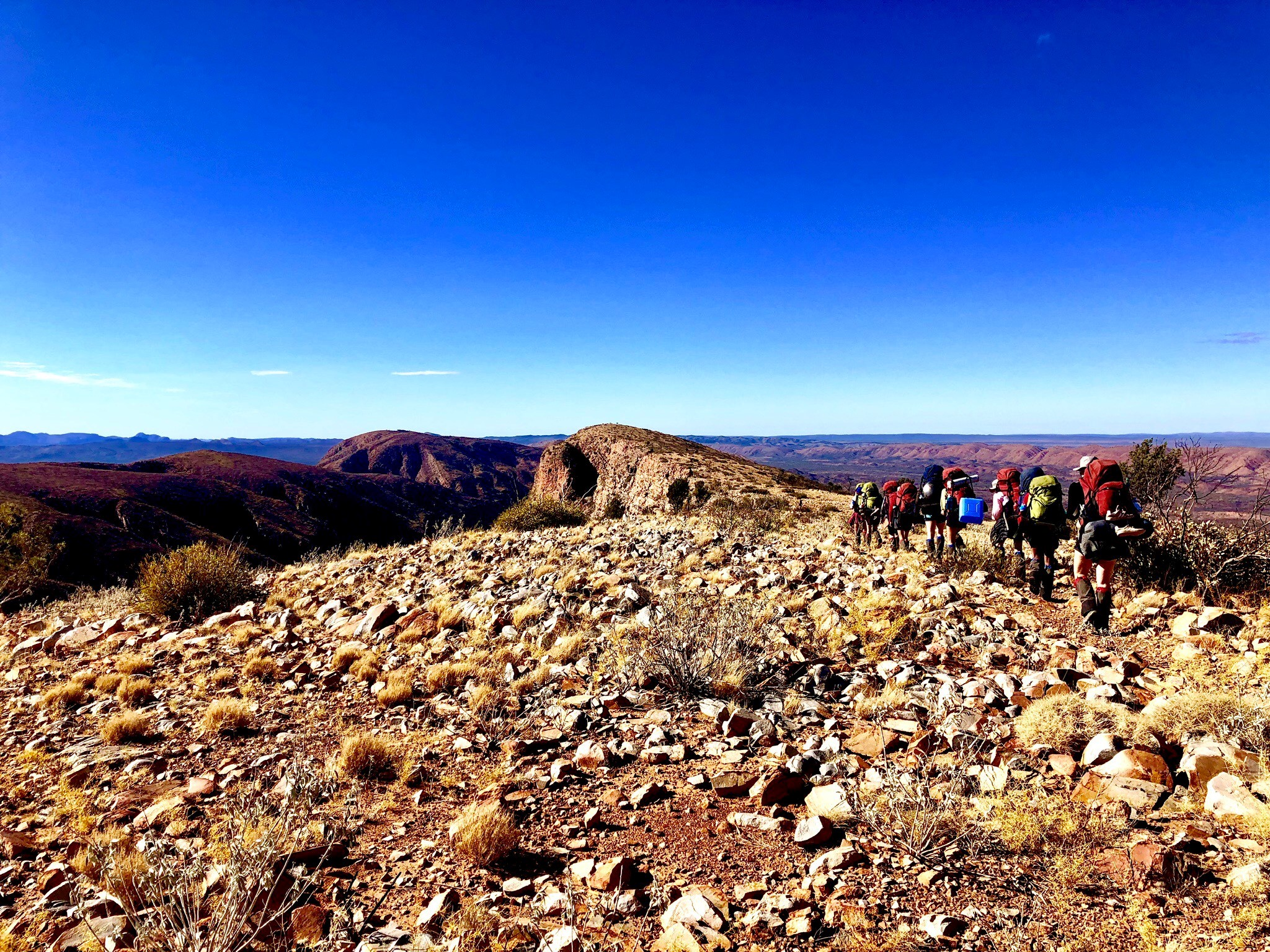 Week 26 Louise Chivell Larapinta Trail NT